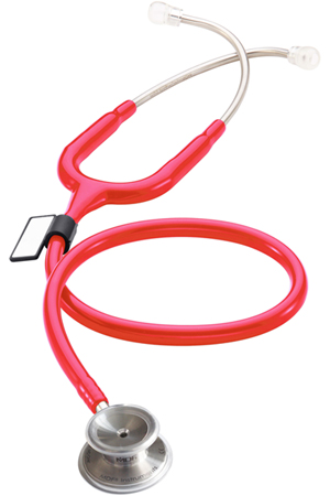 MDF MDF MD One Stainless Steel Stethoscope RedEnv (Raspberry) (MDF777-23)
