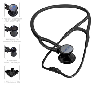 MDF MDF ProCardial ERA Stethoscope BlackOut (All Black) (MDF797X-BO)