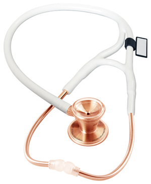 MDF MDF ProCardial CORE Stethoscope Rose Gold / White (MDF797-RG29)