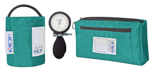 MDF MDF Bravata Palm Aneroid Sphygmomanomete Real Teal (MDF848XPD-16)
