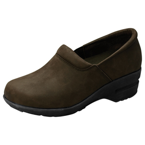 Cherokee Socks & Hosiery Women's SR Fashion Leather Step In Footwear Brown