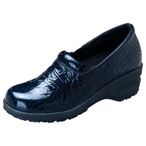 Cherokee Socks & Hosiery Women's SR Fashion Leather Step In Footwear Blue