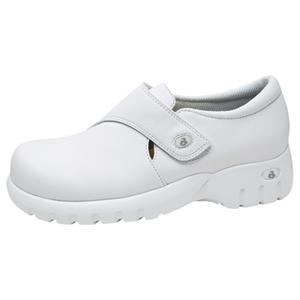 Cherokee Medical Footwear Women's Monk-Strap Step In Footwear White
