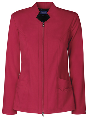 Sapphire Melrose Notched Jacket Ruby Red (SA300A-RRDS)