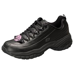 Skechers Footwear Medical Footwear Women's Slip Resistant Athletic Footwear Black