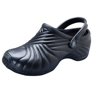Dickies Medical Footwear Unisex Injected Clog w/ backstrap Black
