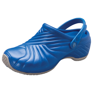 Dickies Medical Footwear Unisex Injected Clog w/ backstrap Blue