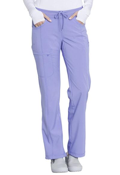 eb2a577e905 Photograph of Infinity Women's Low Rise Straight Leg Drawstring Pant Purple  1123A-BULC