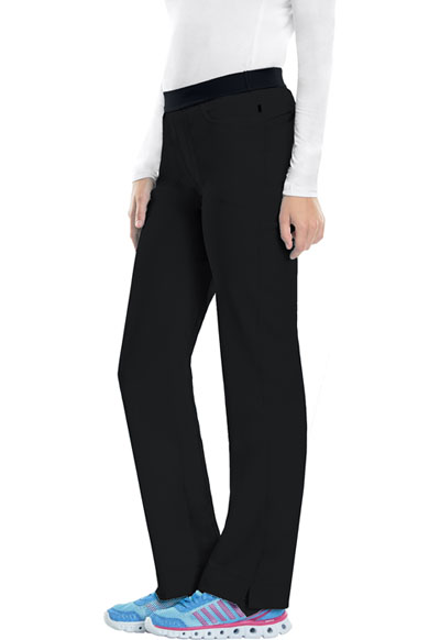 Infinity Women's Low Rise Slim Pull-On Pant Black