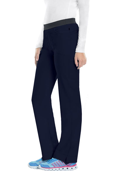 Infinity Women Slim Pull-On Pant Blue