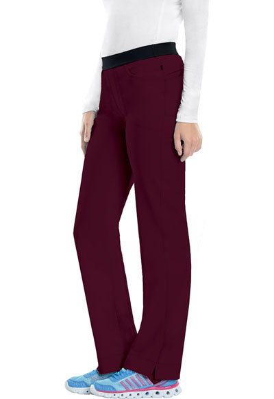 Infinity Women Low Rise Slim Pull-On Pant Red
