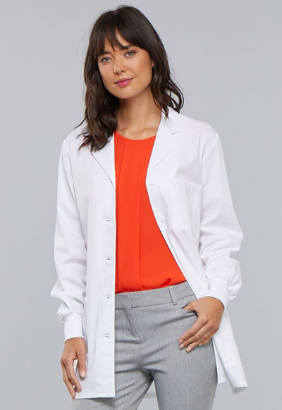 "Cherokee Whites Women's 32"" Lab Coat White"