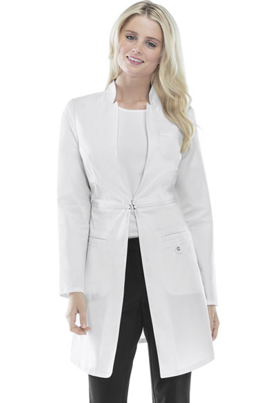 Cherokee Luxe Women's 32 Lab Coat White