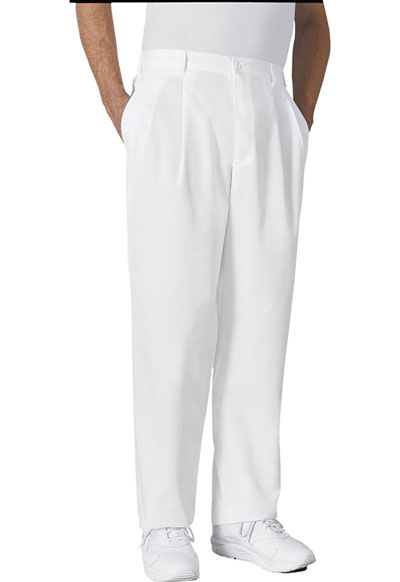 Cherokee Whites Men\'s Men\'s Fly Front Trouser White