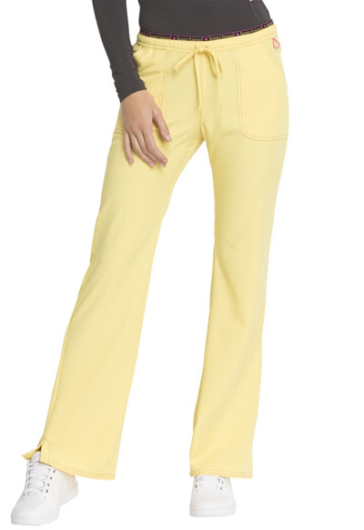 Break on Through Women's Heart Breaker Low Rise Drawstring Pant Yellow