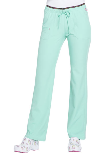 Break on Through Women's Heart Breaker Low Rise Drawstring Pant Green