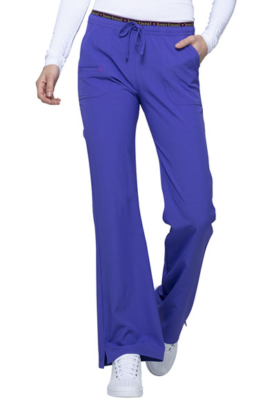 Break on Through Women's Low Rise Drawstring Pant Purple
