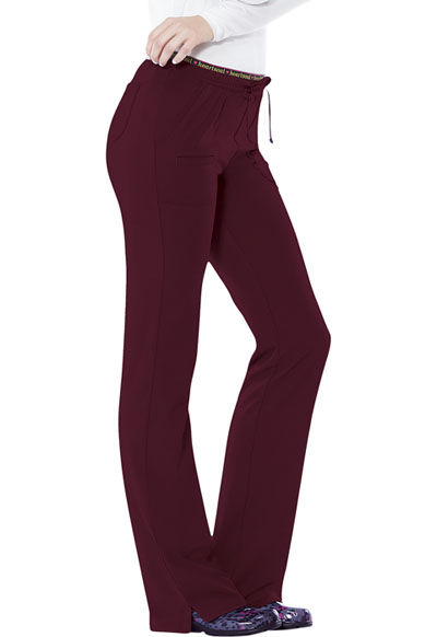 Break on Through Women's Heart Breaker Low Rise Drawstring Pant Red