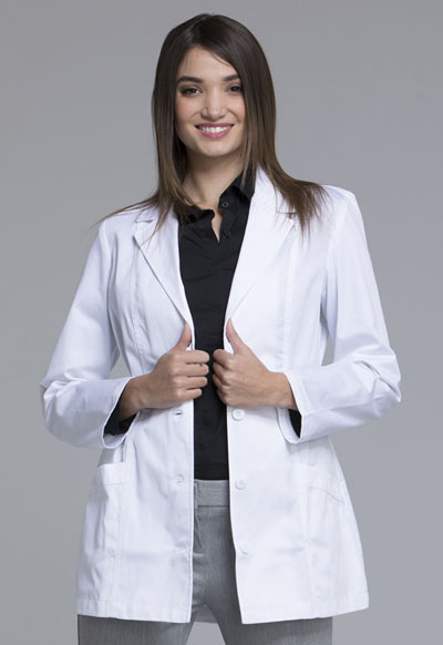 "Cherokee Cherokee Whites Women's 30"" Lab Coat White"