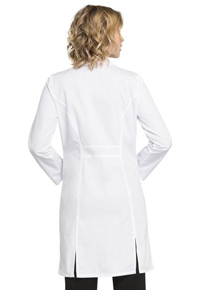 "Cherokee 37/"" Lab Coat 2411 WHTD White Free Shipping"