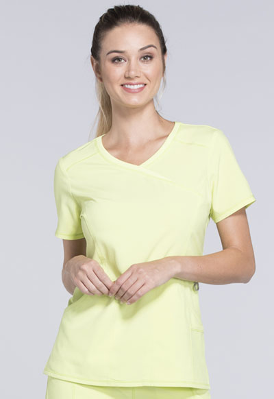 Infinity Women's Mock Wrap Top Green