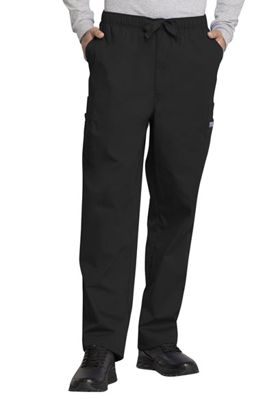 WW Originals Men's Men's Drawstring Cargo Pant Black