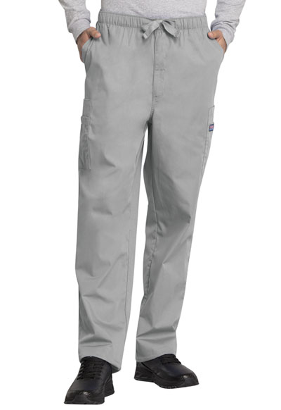 WW Originals Men\'s Men\'s Drawstring Cargo Pant Gray