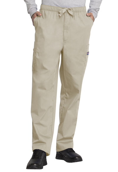 WW Originals Men's Men's Drawstring Cargo Pant Khaki