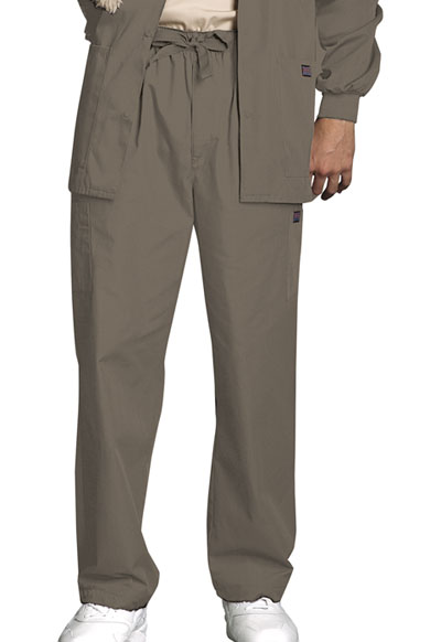 Cherokee Workwear WW Originals Men's Men's Drawstring Cargo Pant Neutral