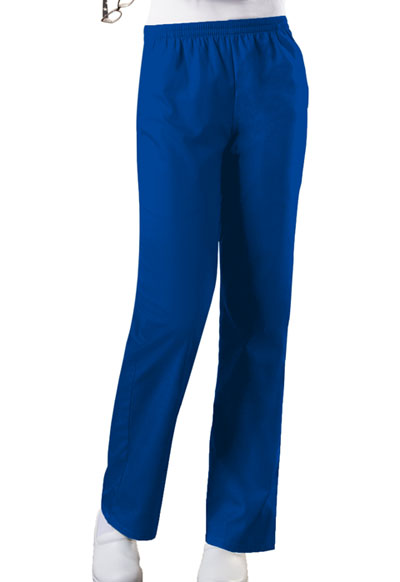 Cherokee Workwear WW Originals Women's Natural Rise Tapered Leg Pull-On Pant Blue