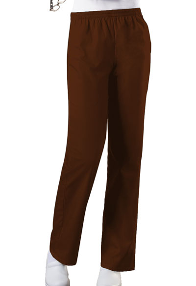 WW Originals Women\'s Natural Rise Tapered Leg Pull-On Pant Brown