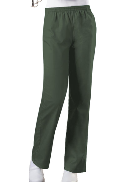 WW Originals Women\'s Natural Rise Tapered Leg Pull-On Pant Green