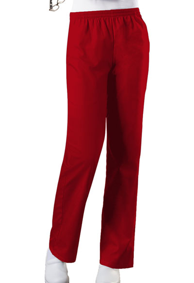 WW Originals Women\'s Natural Rise Tapered Leg Pull-On Pant Red