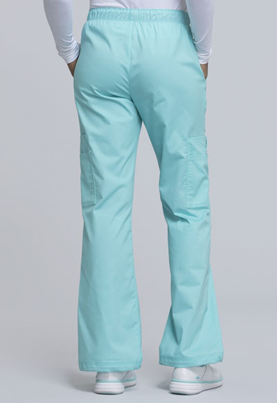 0e802302c72 Photograph of WW Core Stretch Women's Mid Rise Pull-On Pant Cargo Pant Blue  4005