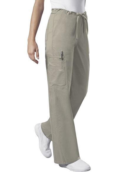 WW Premium Unisex Unisex Drawstring Cargo Pant Khaki