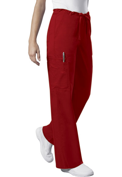 WW Core Stretch Unisex Unisex Drawstring Cargo Pant Red