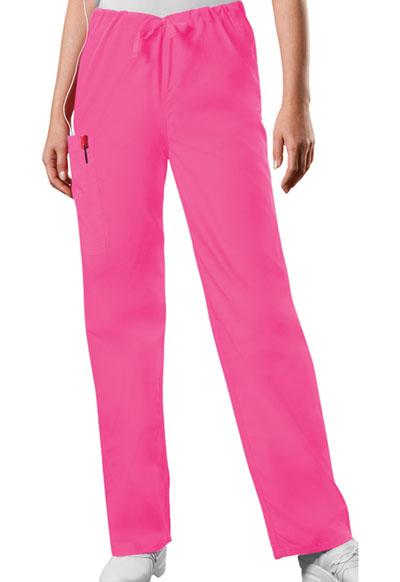 Cherokee Workwear WW Originals Unisex Unisex Drawstring Cargo Pant Pink