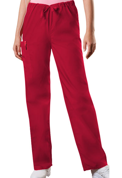 WW Originals Unisex Unisex Drawstring Cargo Pant Red