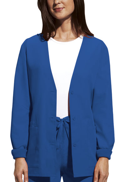 WW Originals Women\'s Cardigan Warm-Up Jacket Blue