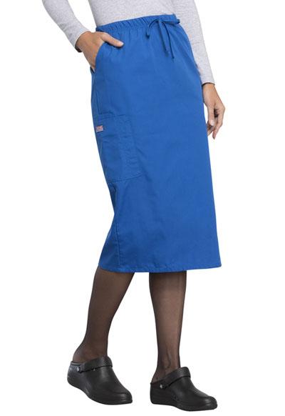 b6b4e2e036a Photograph of WW Originals Women's 30 Drawstring Skirt Blue 4509-ROYW