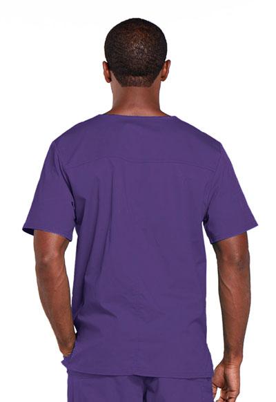 ac90d092fe7 Photograph of WW Core Stretch Unisex Unisex V-Neck Top Purple 4725-GRPW
