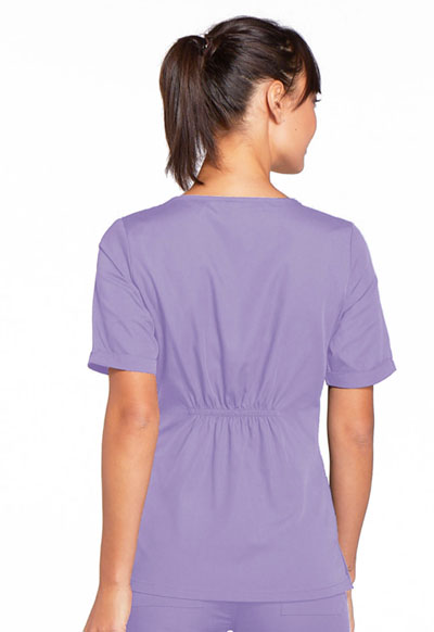3c16f6e19b3 WW Originals V-Neck Top in Orchid 4746-ORCW from Uniform Supply Company