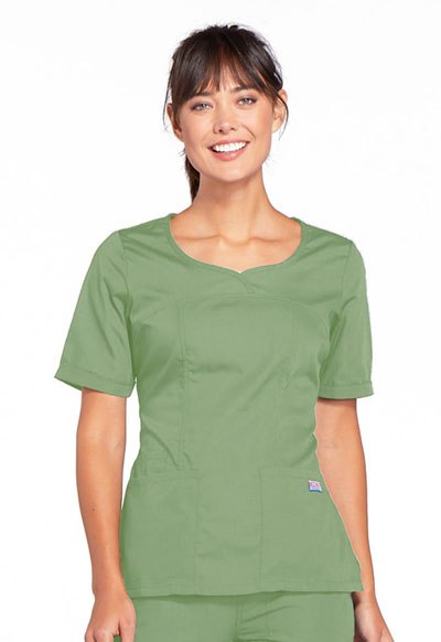 WW Originals Women V-Neck Top Green