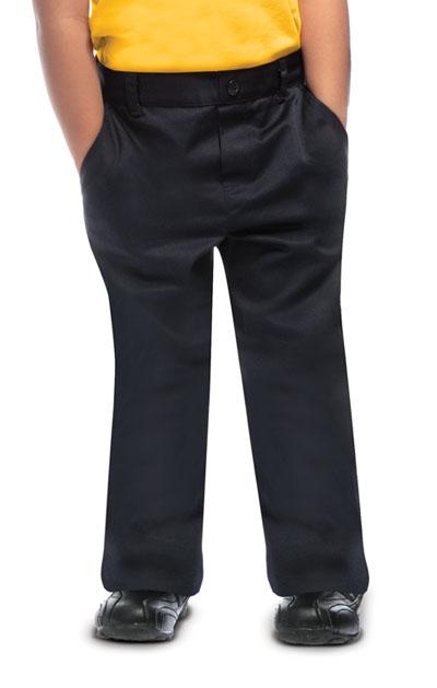 Classroom Uniforms Classroom Preschool Preschool Unisex Flat Front Pant Blue