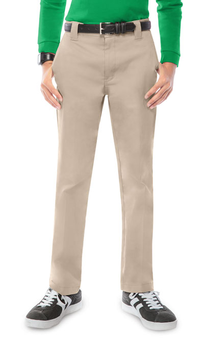 Classroom Boy's Boys Stretch Narrow Leg Pant Khaki