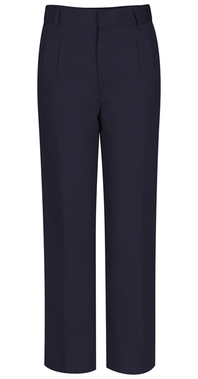 Classroom Boy's Boys Adj. Waist Pleat Front Pant Blue