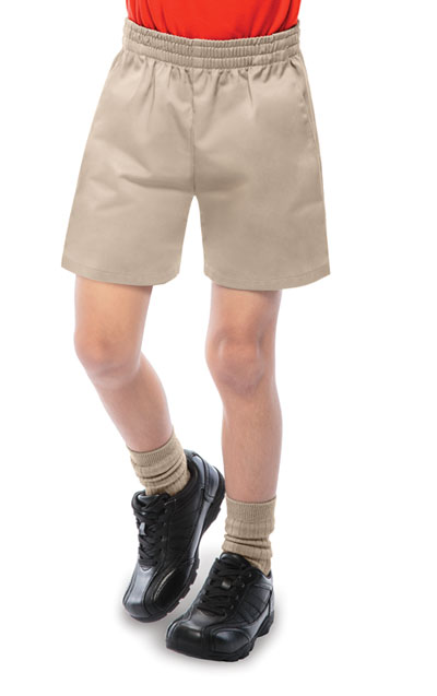 Classroom Child\'s Unisex Unisex Pull-On Short Khaki