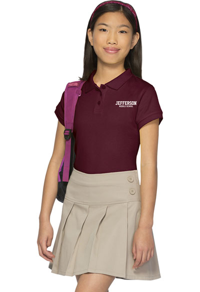 71da522abe Photograph of Classroom Girl's Girls All Over Pleated Scooter Brown 55422A- KAK