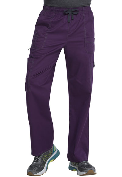 Gen Flex Men Men's Drawstring Cargo Pant Purple