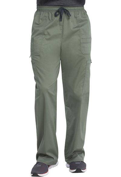Gen Flex Men Men's Drawstring Cargo Pant Green